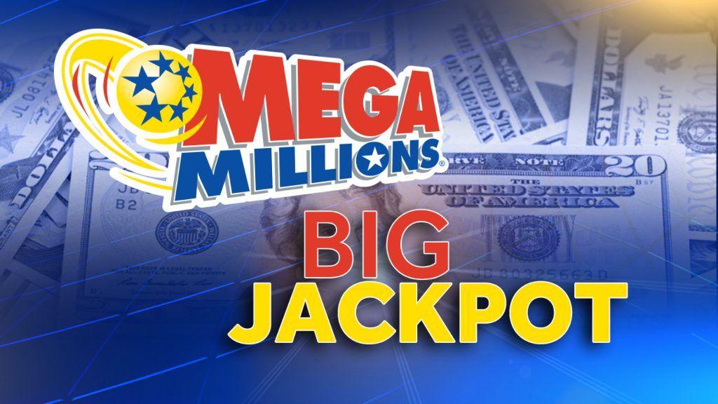 An image of the Mega Millions lottery logo