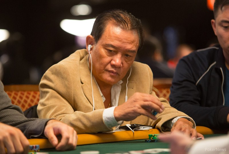 A photo of Men Nguyen competing in a World Series of Poker event