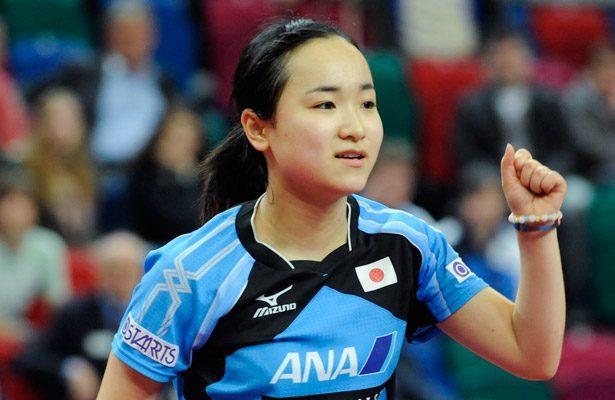 Mima Ito 2015 ITTF World Championship