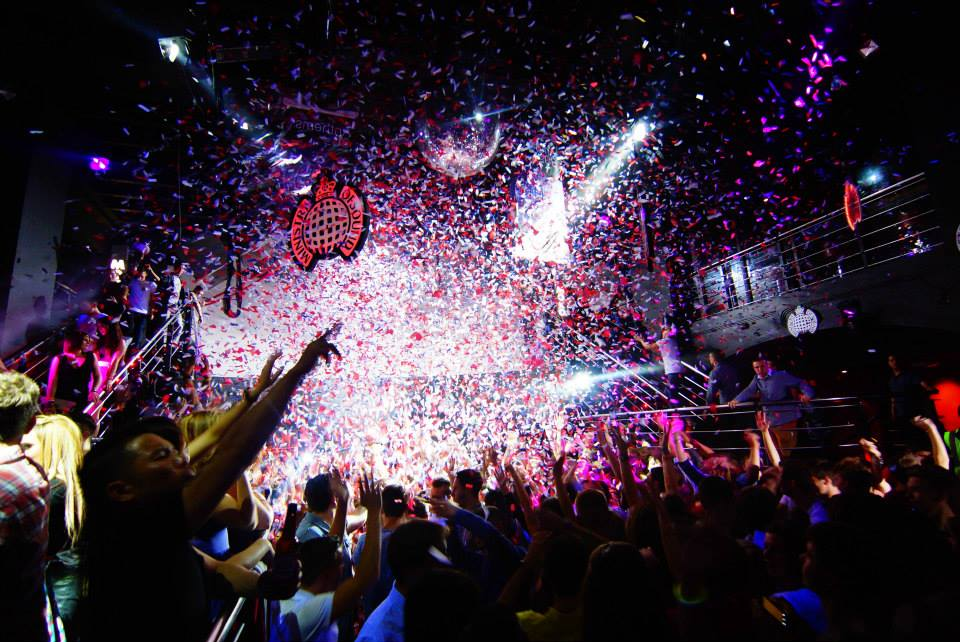 Inside the Ministry of Sound night club in London