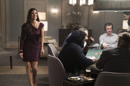 A poker scene from Molly's Game