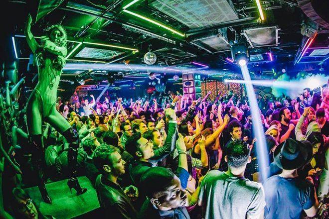 Nightlife at Lavo, a popular club in New York