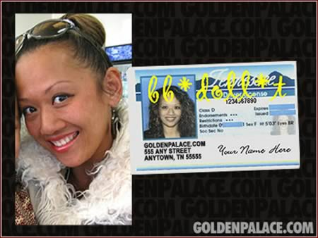 A woman who legally changed her name to 'GoldenPalace.com'