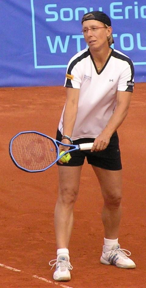 Navratilova tennis
