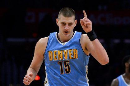 Nikola Jokic, one of the best rising stars in the NBA
