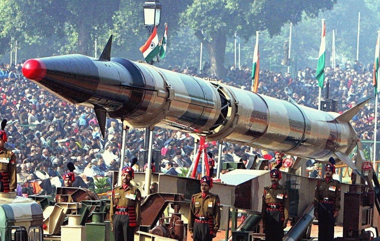 A Nuclear Warhead from India's program