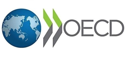 The logo for the Organization for Economic Co-Operation and Development