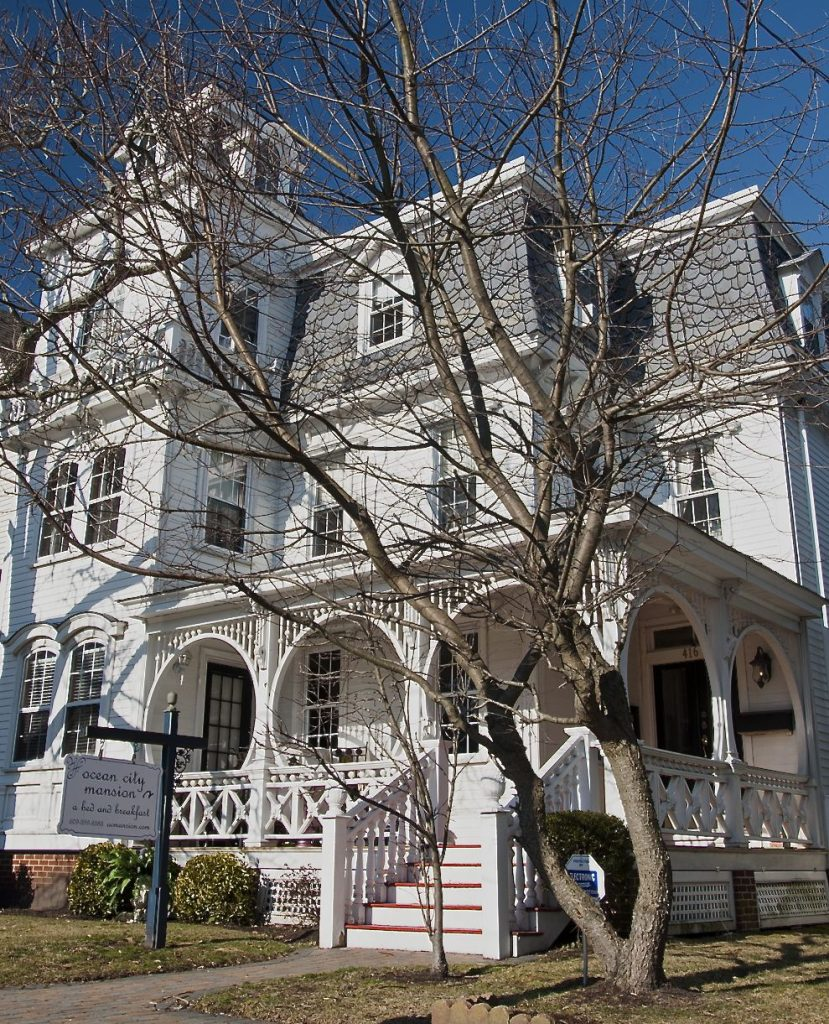 The Ocean City Mansion bed and breakfast in New Jersey