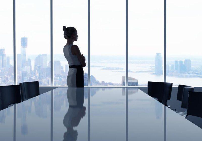 Women in office jobs