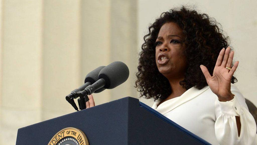 Oprah Winfrey's Commemoration Speech