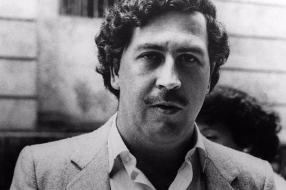 An image of the notorious Pablo Escobar