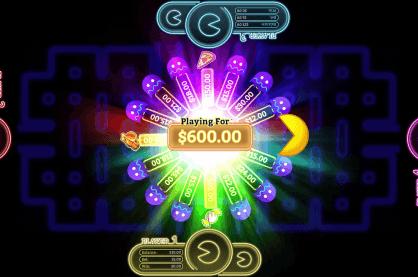 Gameplay from Pac-Man battle casino