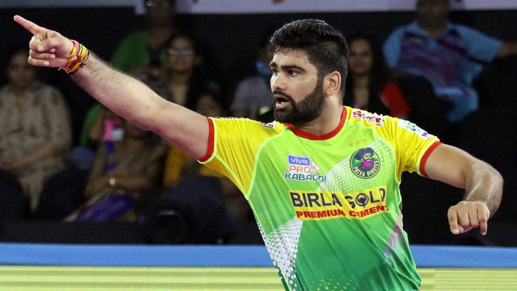 Pardeep Narwal - Kabaddi Player