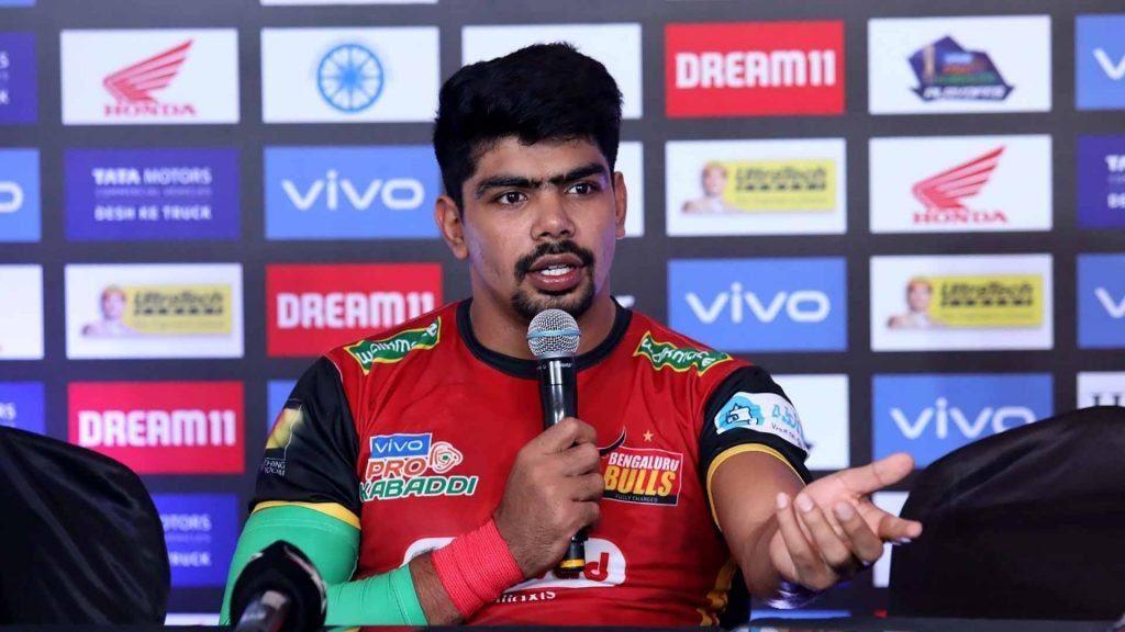 Pawan Sehrawat - Kabaddi player