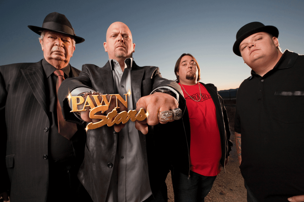 The stars from the hit TV show 'Pawn Stars'