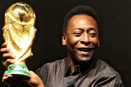 Pele, an icon in football
