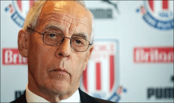 Peter Coates, the current chairman of Stoke City FC
