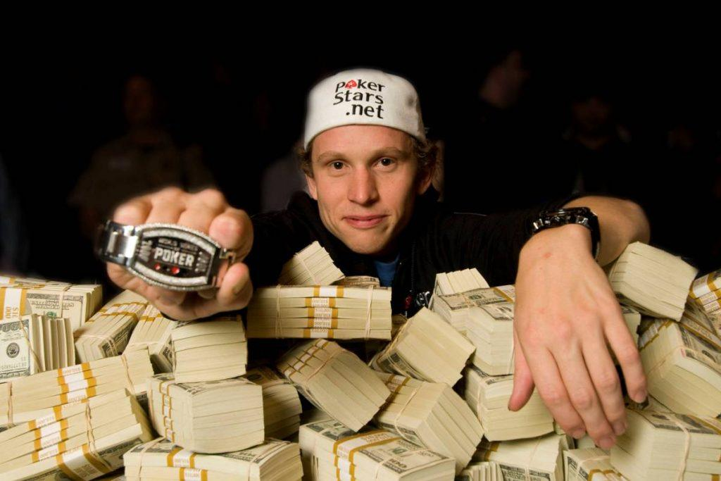 Peter Eastgate, past World Series of Poker champion
