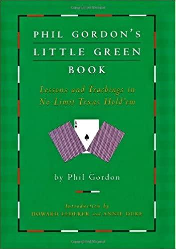 Phil Gordon's Little Green Book – Phil Gordon