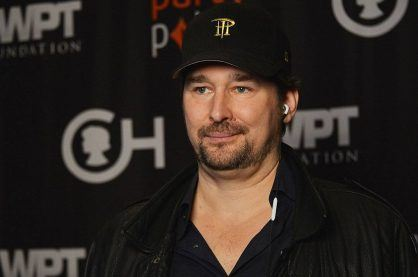 Phil Hellmuth photographed at a WPT charity event