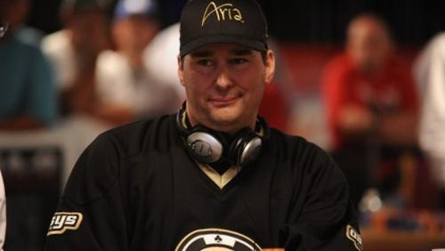 A photo of Phil Hellmuth, one of the most decorated poker players