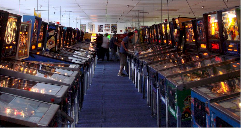 Pinball Hall of Fame museum