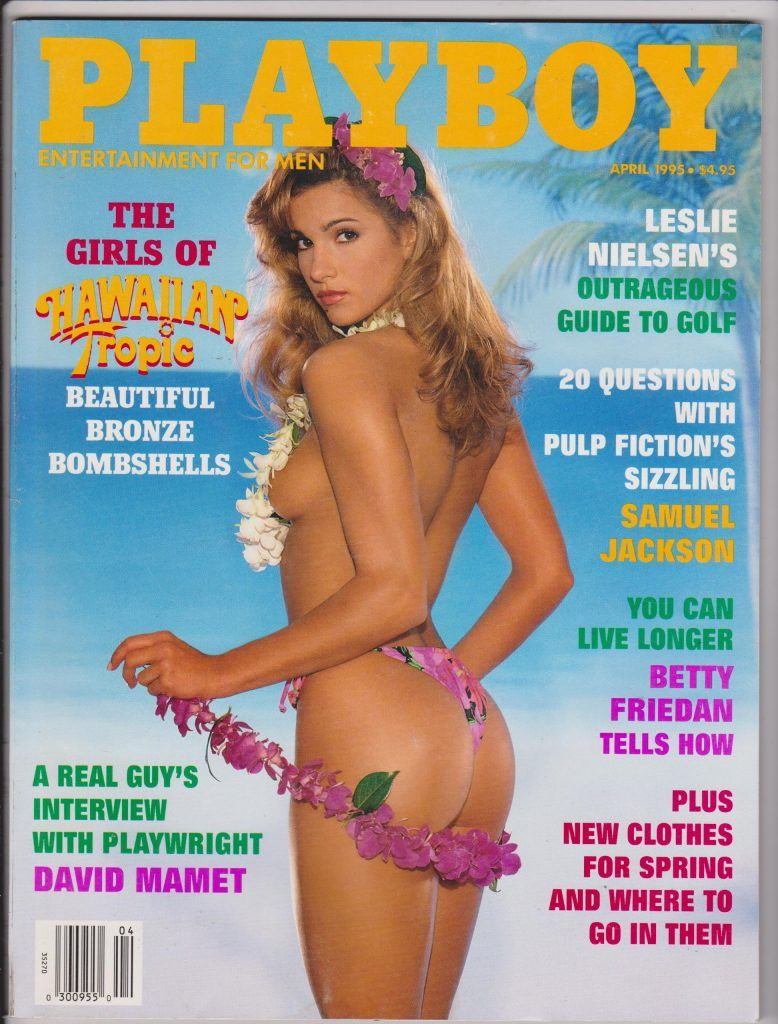 Playboy 1995 cover