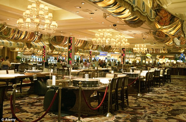 The 'Playground' design of a casino floor