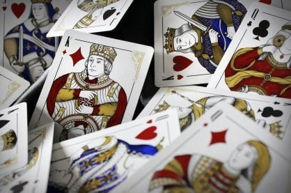 Magna Carta playing cards