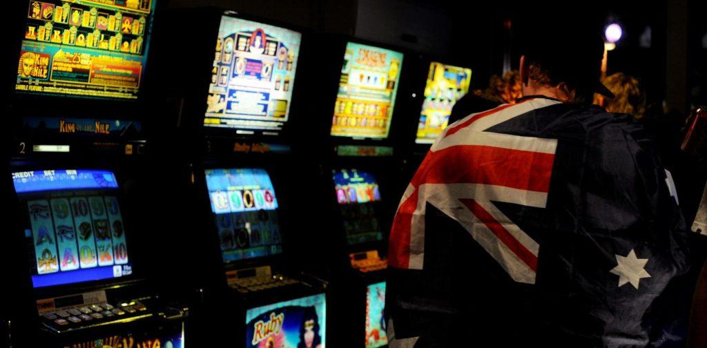 Pokies machines from a live casino in Australia