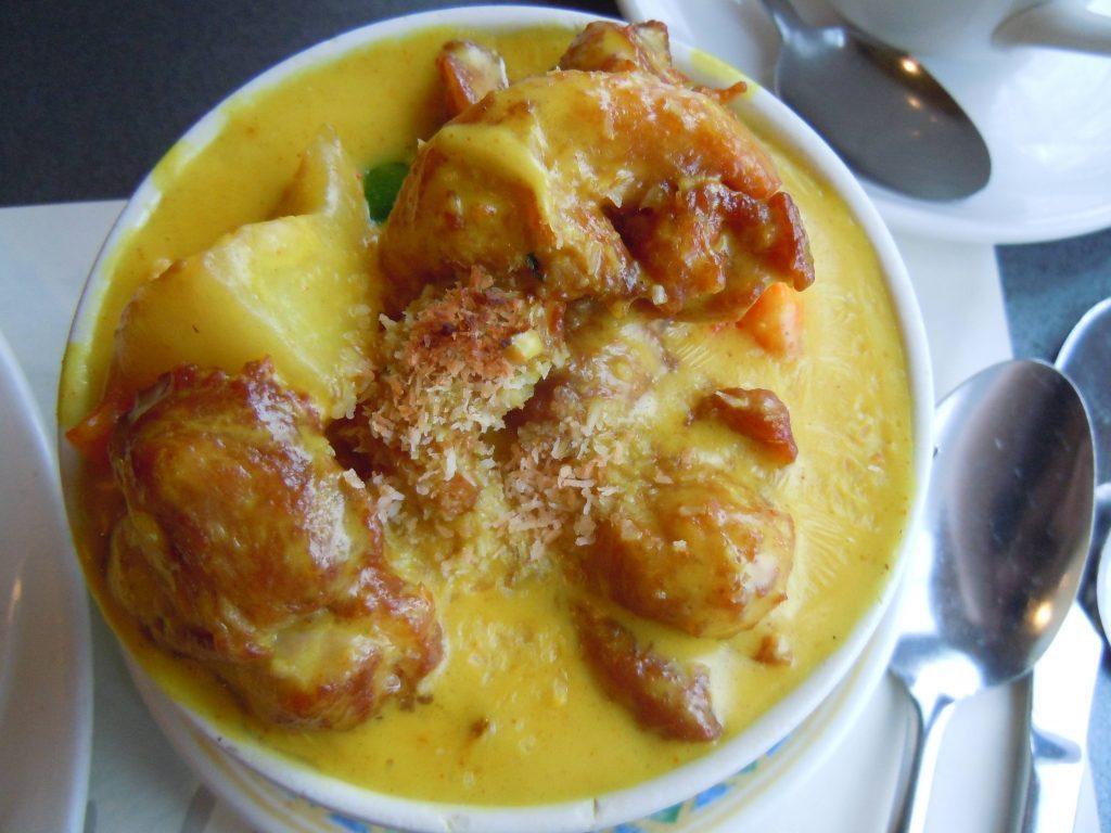 An original dish invented in Macau