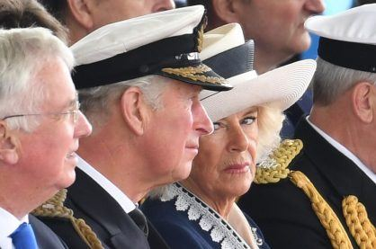 A photo of Prince Charles and Camilla