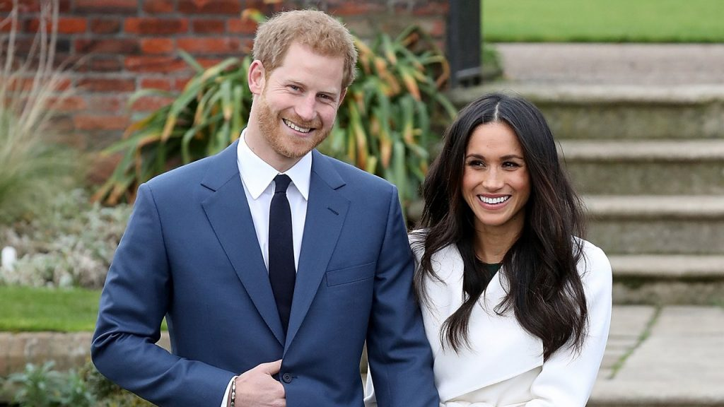Prince Harry and Meghan Markle photographed ahead of their wedding