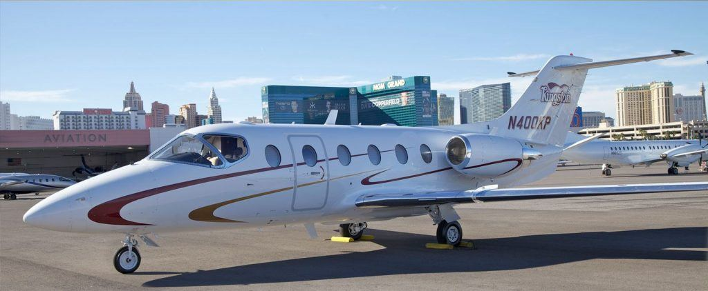 A private jet for Vegas high rollers