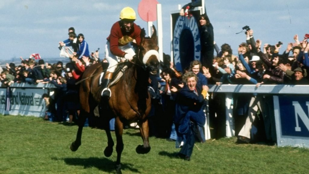 Red Rum dominated the Grand National to reach stardom