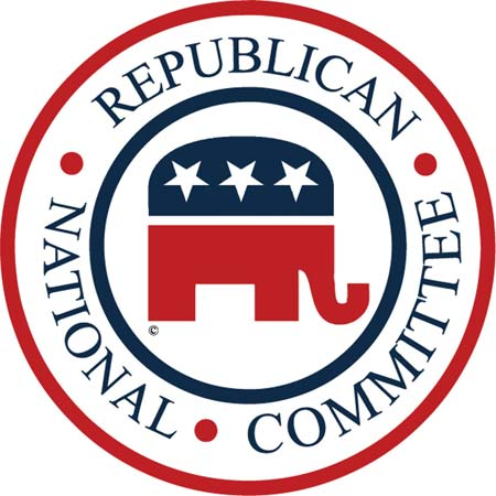 The official logo of the Republican National Committee