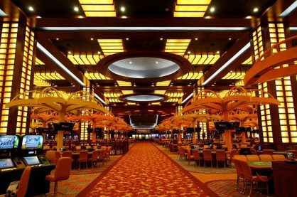 Inside Resorts World Sentosa, one of the most modern casinos in the world