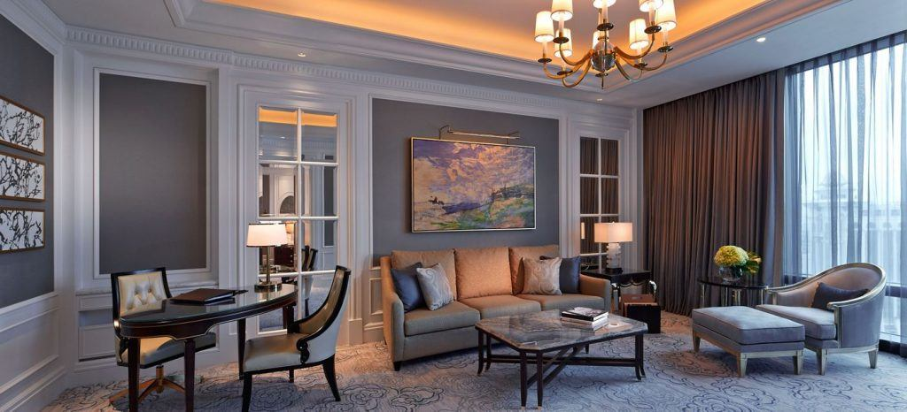 The two-bedroom Carlton Club Suite at the Ritz-Carlton in Macau