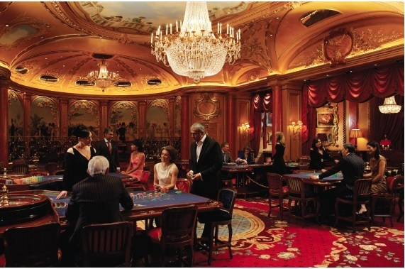 Sometimes a heist needn't be illegal at all; in 2003 a trio that took nearly $2 million from London's The Ritz was determined not to have broken any rules. (Source: CasinoLifeMagazine.com)