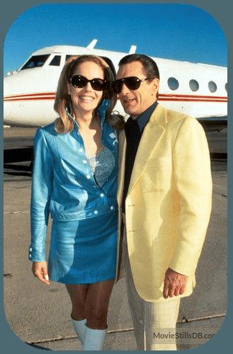 b66560d877f2 Robert De Niro & Sharon Stone in Casino movie standing in front of private  jet