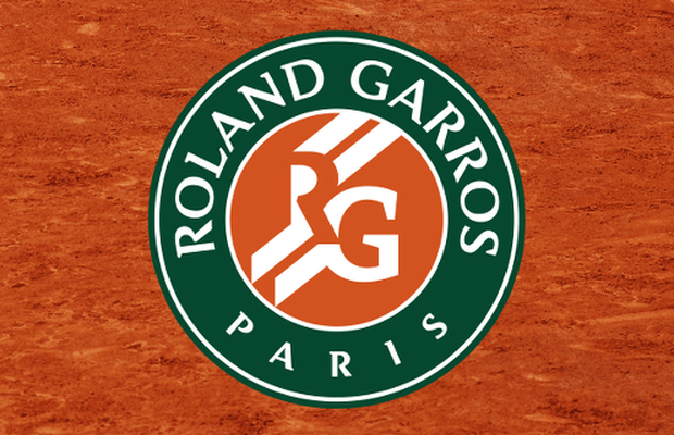 The official logo for the French Open
