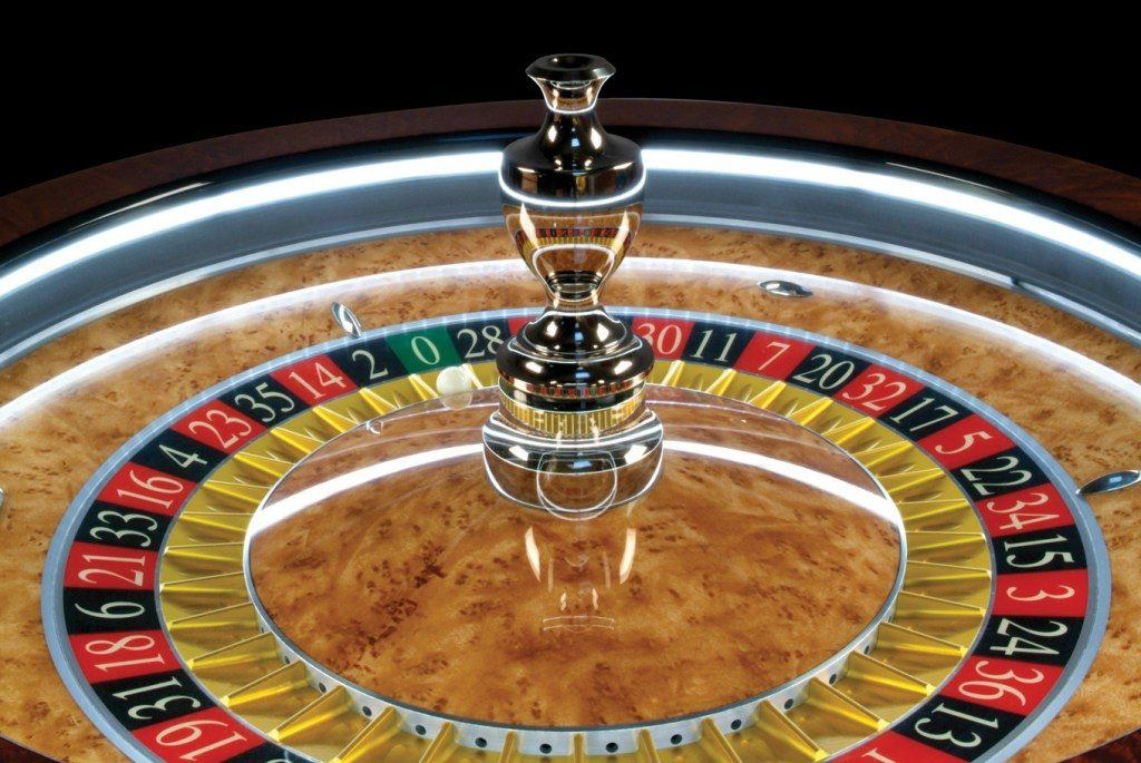 A typical example of a standard roulette wheel