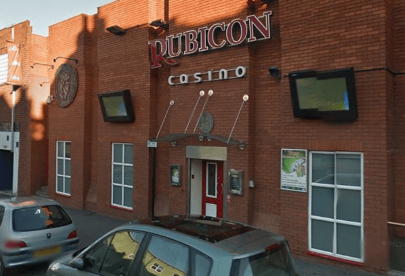 The Rubicon Casino, mistaken for the mans account