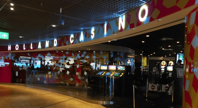 The casino inside Schiphol Airport