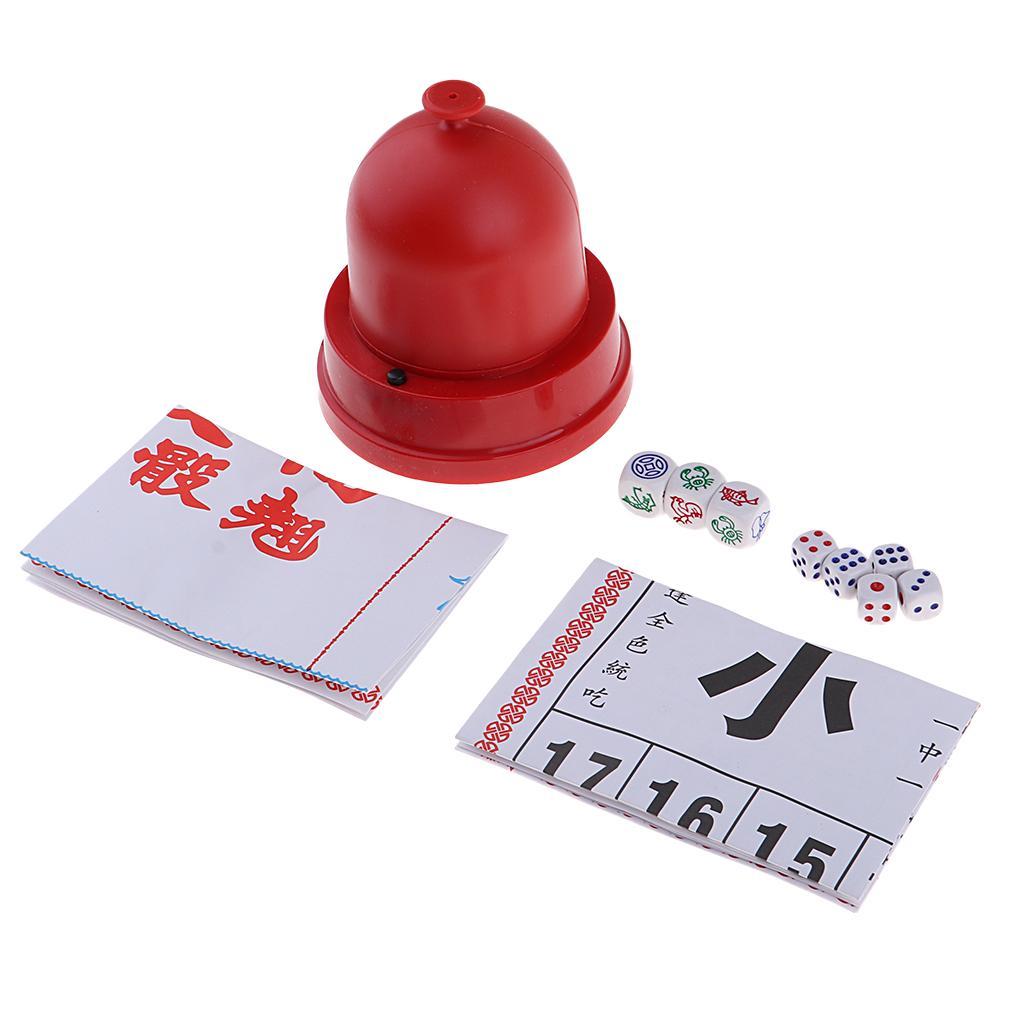 Sic Bo + FishCrabPrawn Classic Gambling Game Set