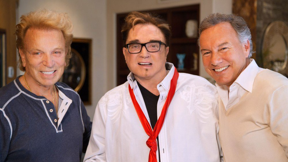 Siegfried and Roy, a popular performing duo in Las Vegas