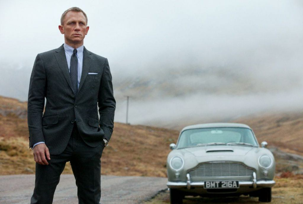 Daniel Craig, the star of Skyfall, set in Macau
