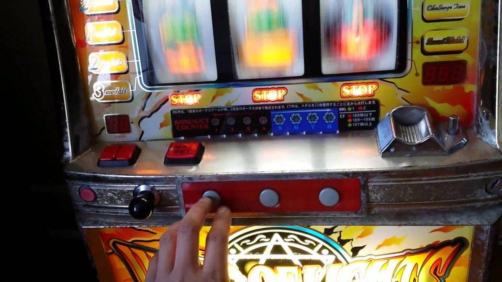 A real money slot machine