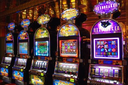 High quality slot machines from a land-based casino