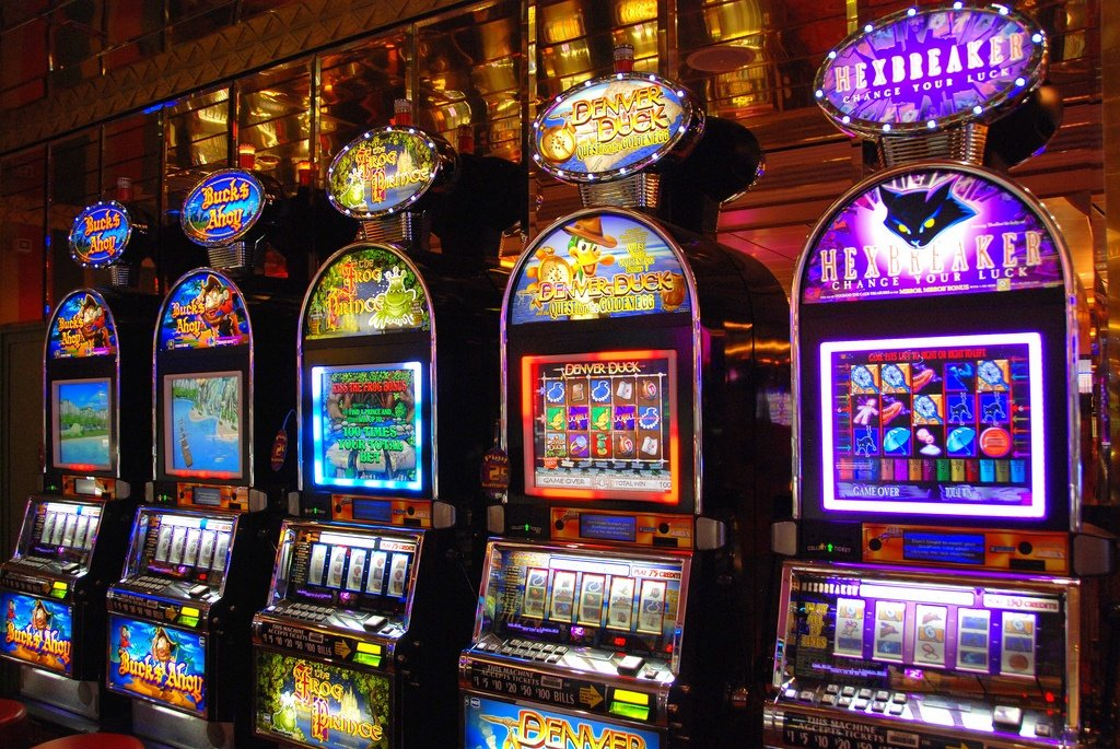 Cascading Slot Machines